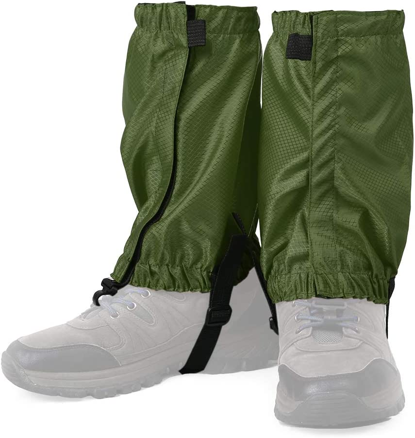Lixada 1 Pair Water Resistant Leg Gaiters Women Men Low Gaiters ...