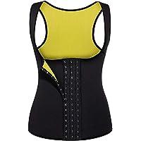 Dam neopren väst midja tränare viktminskning bantning kroppsform het svett kostym träning tank top