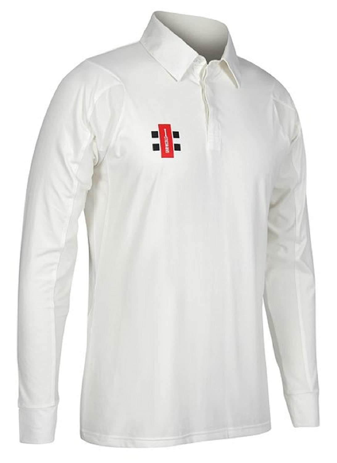 8904ab54e3e1 Amazon.com   Gray Nicolls Cricket T-Shirt Full Sleeve White Uniform Dryfit  Dress 2X Large   Sports   Outdoors