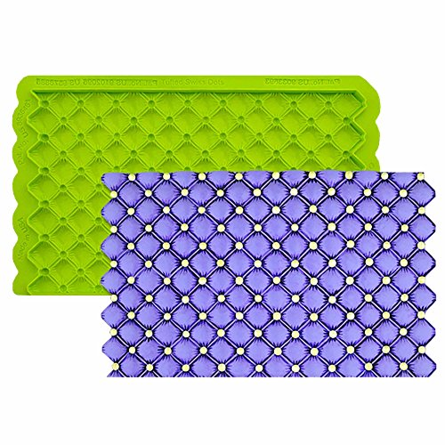 Tufted Swiss Dot Simpress Silicone Mold by Marvelous Molds (Cake Dot Swiss)