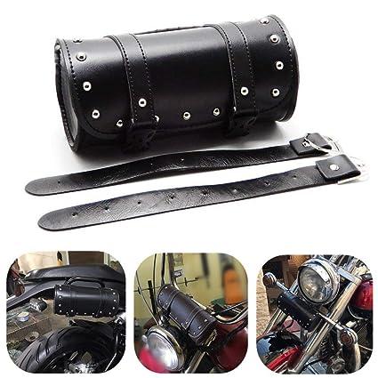 Motorcycle Tool Bag >> Amazon Com Motorcycle Handlebar Bag Kemimoto Tool Bag Pouch Roll