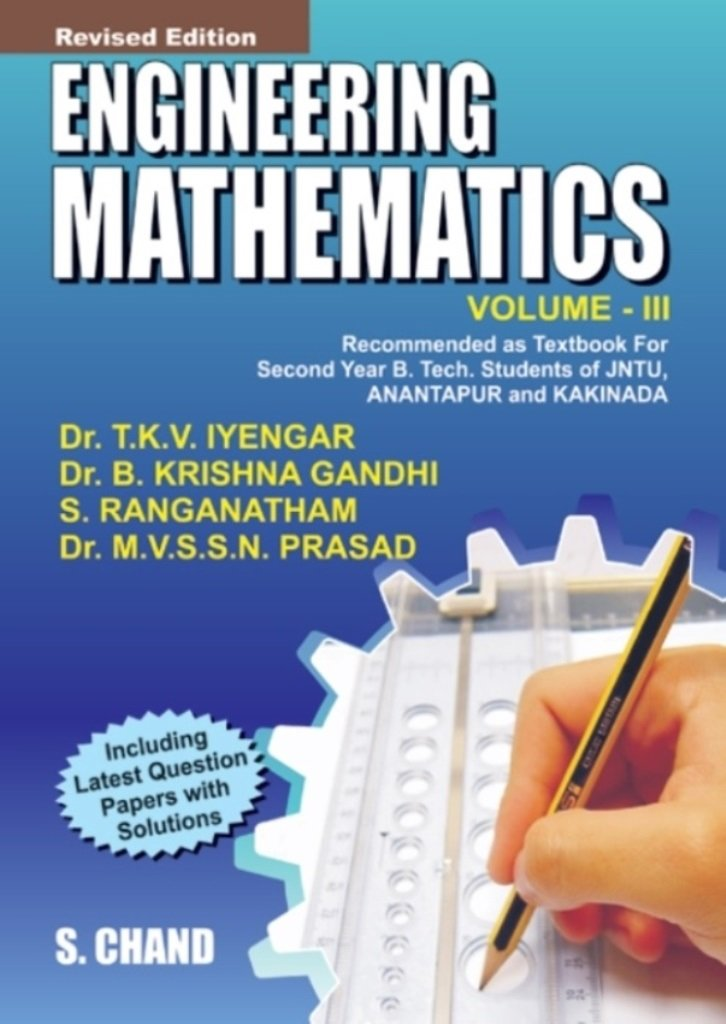 Read Online Engineering Mathematics: v. 3: Recommended as a Textbook for Second Yr B.Tech. Students of JNTU pdf