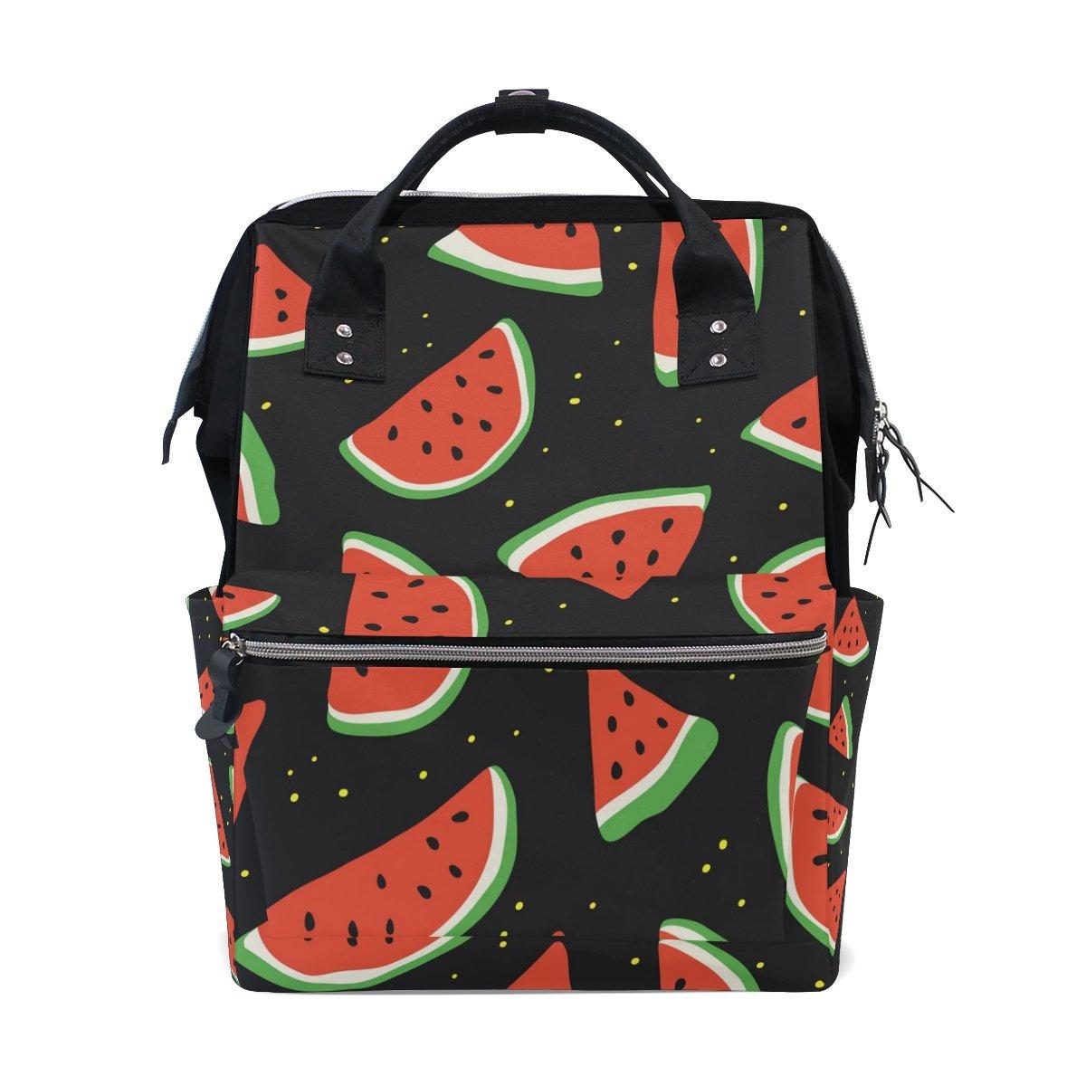 96d9aca734d9 Amazon.com: JSTEL Laptop College Bags Student Travel Watermelons ...