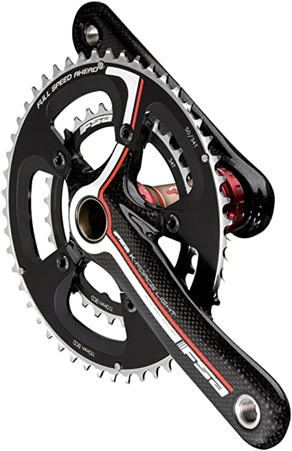 NEW COMPACT Chain Ring 9//10s Shimano Road Bike 34+50t FSA K-Force Chainrings