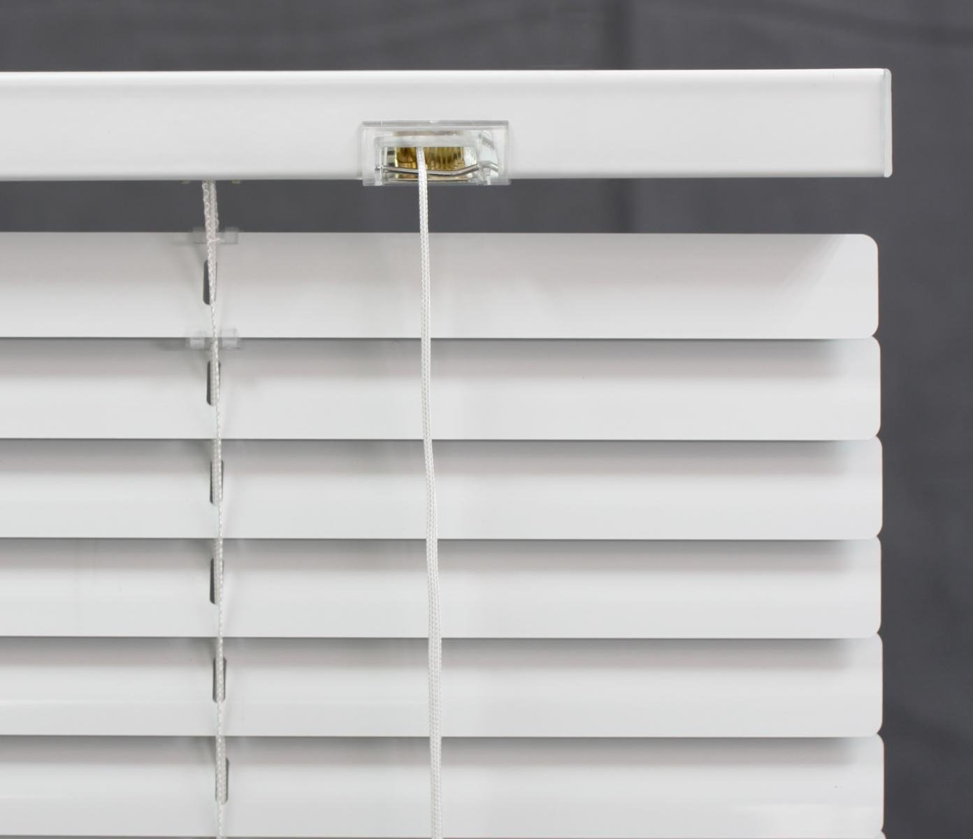 DEZ FURNISHINGS 29247 1-Inch Aluminum Blind, 29-Inch W X 36-Inch L, White by DEZ Furnishings (Image #3)