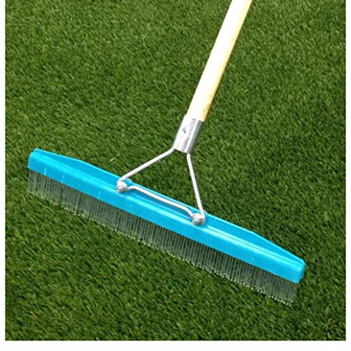 Grandi Groom Artificial Turf Rake / Carpet Groomer Brush - New With Handle from Unknown