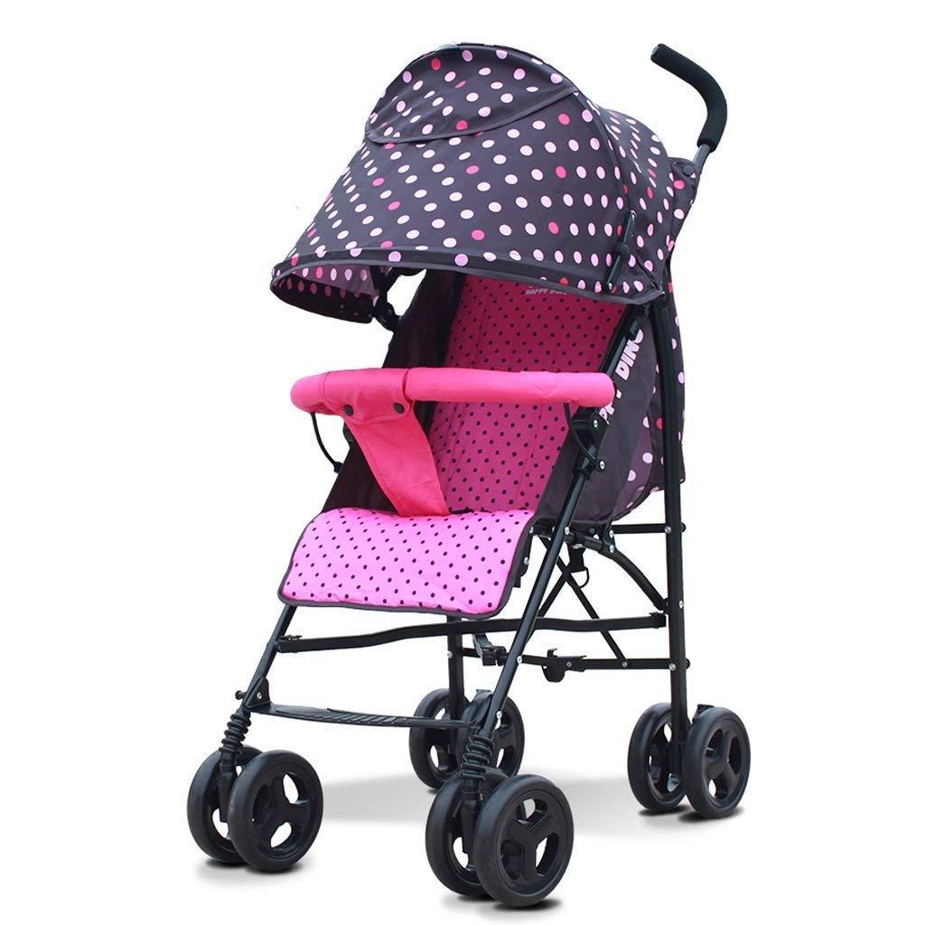 赤ちゃんのプッシャーベイビーのベビーカーのライトポータブルは傘を取ることができます車の赤ちゃんのトロリー冬と夏の二重使用のウォーカー折り畳み式の車の高い風景の赤ちゃんのキャリッジ   B07S2YKWSM