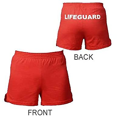 25f618370f Image Unavailable. Image not available for. Color: Lifeguard Master Women's  Lifeguard NONO Shorts-X-Large