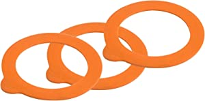 Kilner Replacement Rubber Seals, 6 CT, Orange