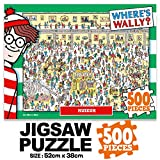 500Piece Jigsaw Puzzle Where's Wally (Waldo) Museum Hobby Home Decoration DIY