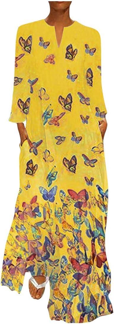 Poachers Vestidos Mujer Talla Grande Vestidos Largos De Fiesta Mujer Para Bodas Vestidos Playa Mujer Tallas Grandes Vestidos Mujer Fiesta Impresion De Manga Larga Amazon Es Ropa Y Accesorios