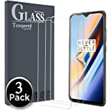 Ferilinso for OnePlus 6T/ OPPO F9 Screen Protector,[3 Pack] Protection Tempered Glass with Lifetime Replacement Warranty for OnePlus 6T/ OPPO F9