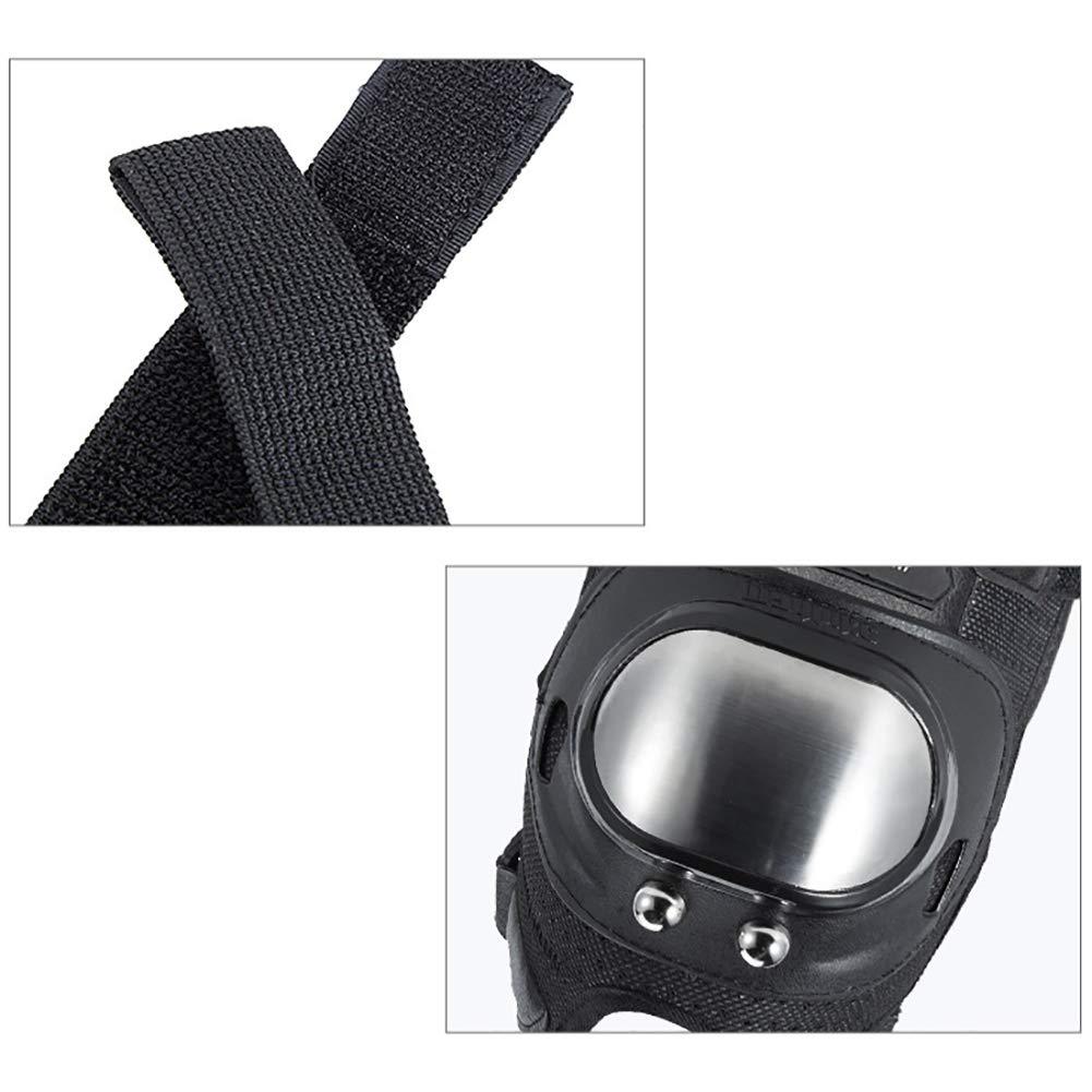 Blanchel 4 Teile//Satz von kurzen ellenbogen knieschutz pad atmungs armlehnen beinschutz schutzausr/üstung Outdoor Motorrad Fahren sportbekleidung zubeh/ör