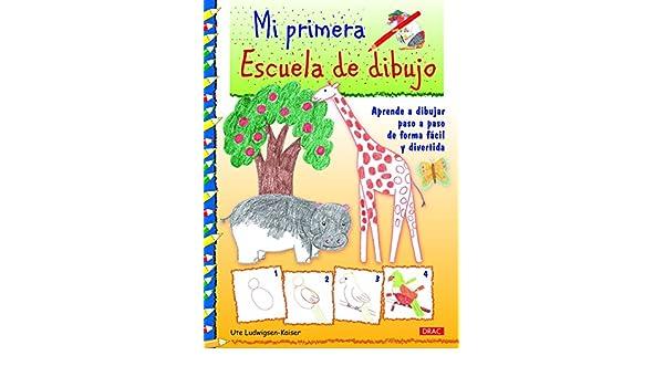 Mi primera escuela de dibujo: Aprender a dibujar paso a paso de forma fácil y divertida: KAISER(744880): 9788498744880: Amazon.com: Books