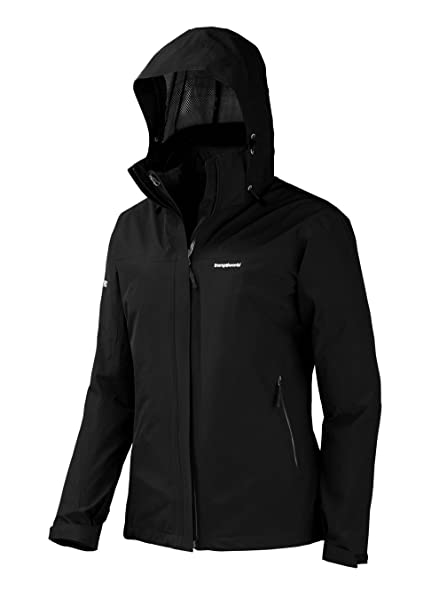 Trangoworld Suber Complet Chaqueta, Mujer, Negro, L