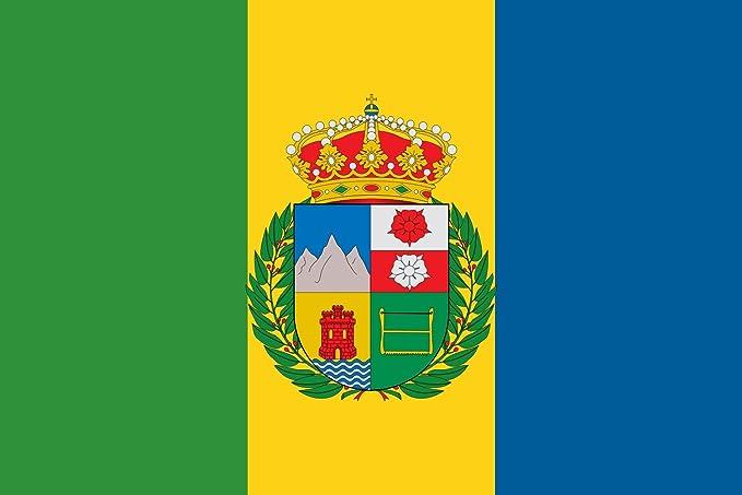 magFlags Bandera Large Breña Baja, España | Bandera Paisaje | 1.35m² | 80x160cm: Amazon.es: Jardín