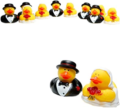 Amazon.com: Boda Rubber Duckies/Patos novia & novio ...