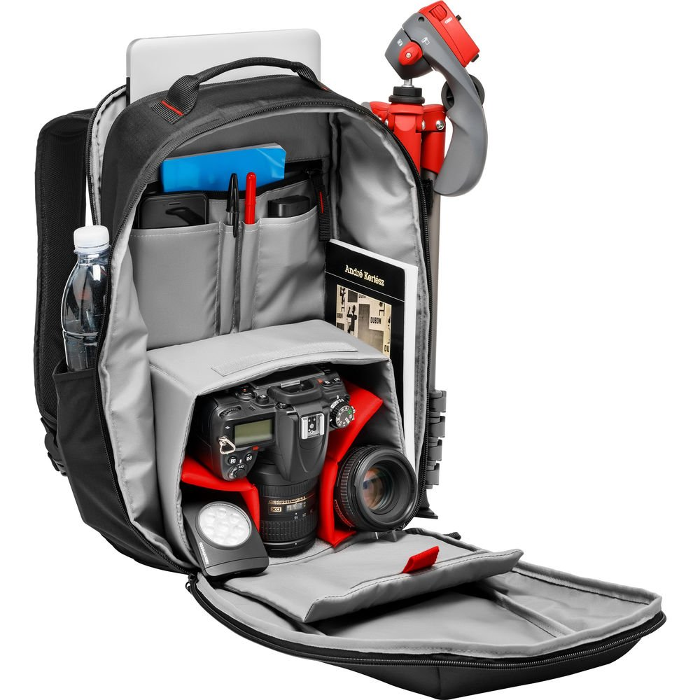Amazon.com : Manfrotto Essential DSLR Camera Backpack (Black ...