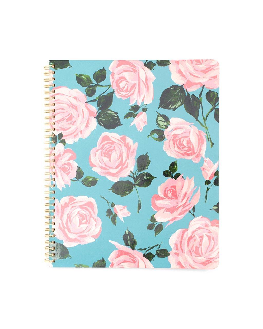 ban.do design rough draft large notebook, rose parade (72530)