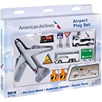 10-Piece Daron RT1661-1 American Airlines Playset