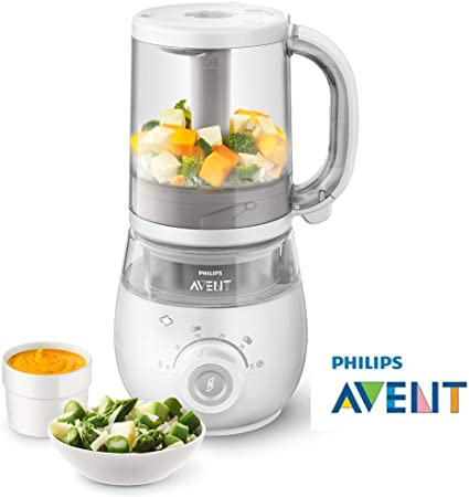 Philips Avent 4 In 1 Healthy Steam Baby Meal Maker White