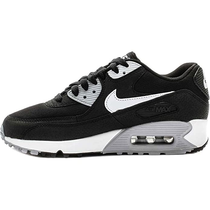 lowest price 9fba2 b25eb Nike Basket Homme Air Max 90 Essential Noire-Taille - 43  Amazon.fr   Chaussures et Sacs