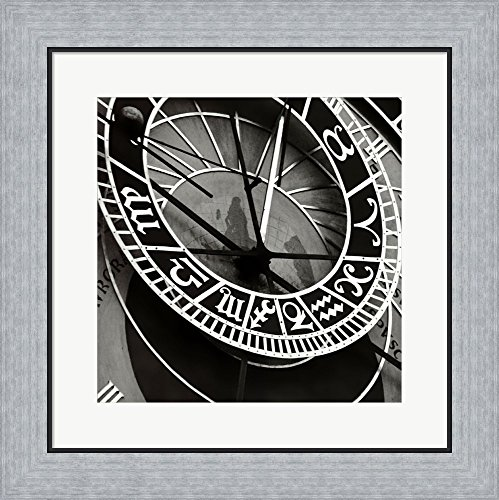 Tony Koukos Framed Art Print Wall Picture, Flat Silver Frame, 19 x 19 inches (Tony Koukos Pieces)
