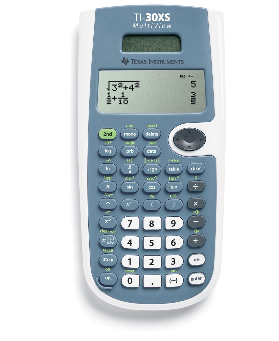 Texas Instruments TI-30XS MultiView Scientific Calculator (2-Pack)