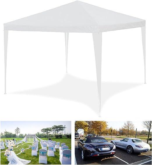3 x 3 m impermeabile da spiaggia HG/®Gazebo Tenda da giardino tendone per feste di matrimonio campeggio o giardino