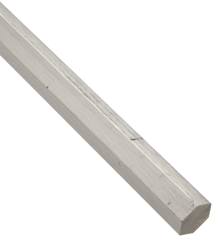 2024 Aluminum Hex Bar, Unpolished (Mill) Finish 0.75' Across Flats, 36' Length Unpolished (Mill) Finish 0.75 Across Flats 36 Length Small Parts Inc 20240.750HEXL3.000