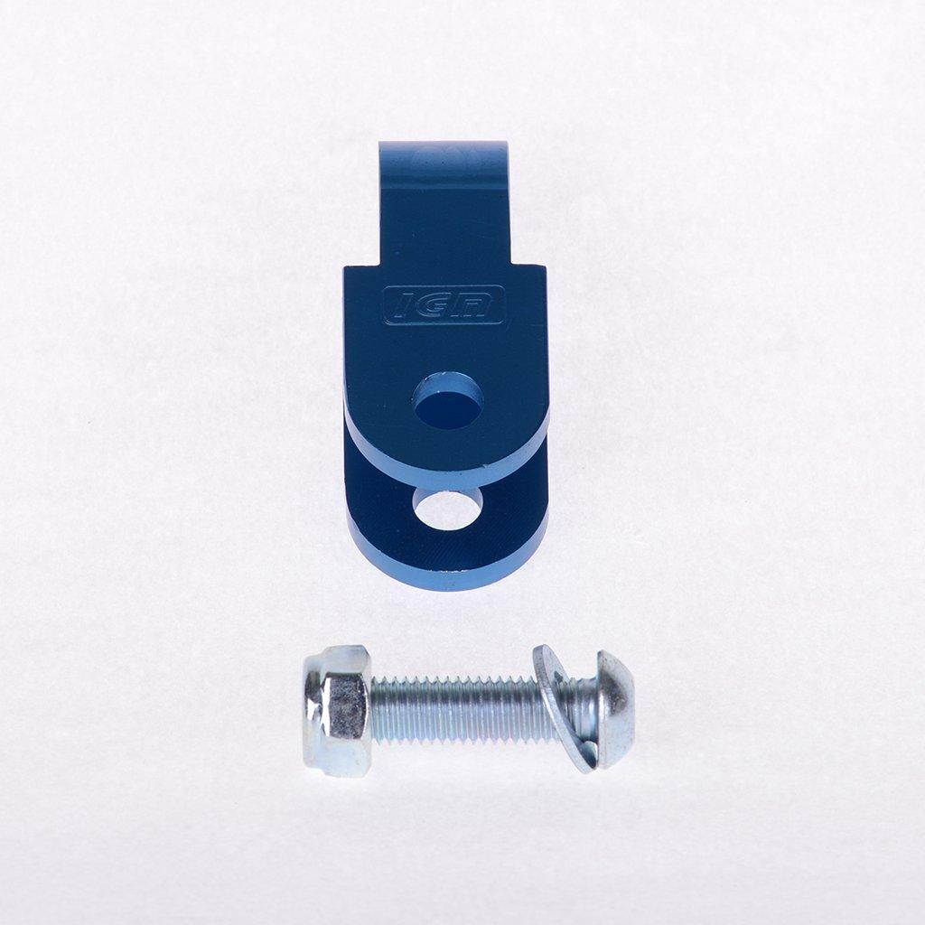 Rehausse Bleu 40 mm sans ABE Benelli 491 AC 50 BA01 98– 05 ScooterLibre