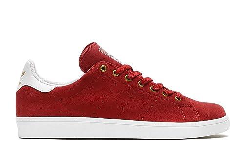 adidas mens originali stan smith, te formatori nel mistero di rosso