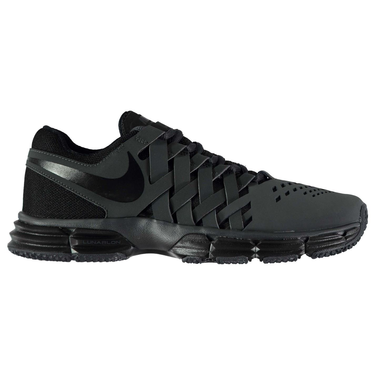 chaussures chaussures nike fingertrap lunaire d'origine physique anthracite  / Noir  anthracite formateurs baskets 11 hommes 889218