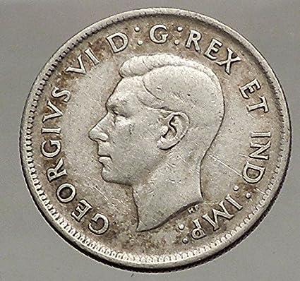 Amazon com: 1942 CANADA King George VI of Britain Domains AR
