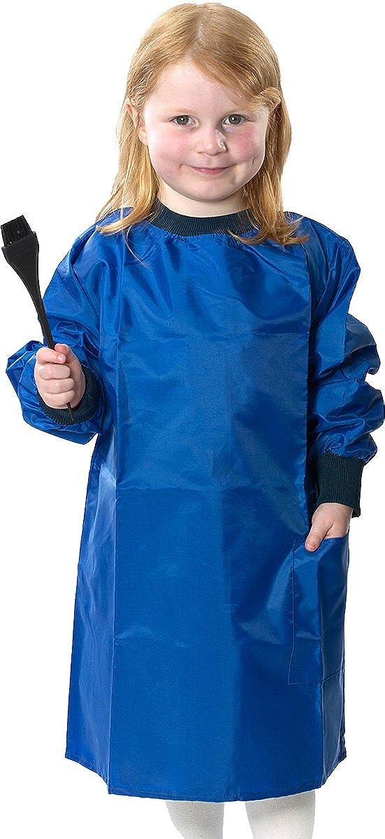 Bata para la escuela y para clase de pintura para niños, fácil de limpiar: Amazon.es: Ropa y accesorios