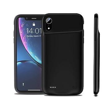 FAMOBIE Funda Bateria para iPhone XR 4200mAh, Batería ...