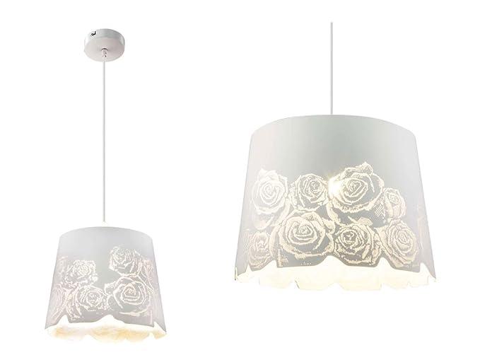 Lampadario Bianco Opaco : Lampada a sospensione lampadario luci sala da pranzo in metallo