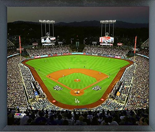 Los Angeles Dodgers Dodger Stadium Game 1 2017 MLB World Series Photo (Size: 12