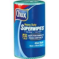 Chux Heavy Duty Superwipes Roll, Green 80 Count