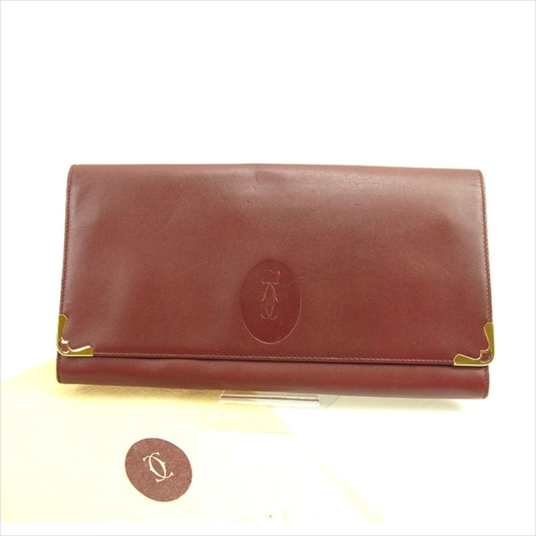 [カルティエ] Cartier クラッチバッグ セカンドバッグ メンズ可 マストライン 中古 Y3786 B0772MVBM2