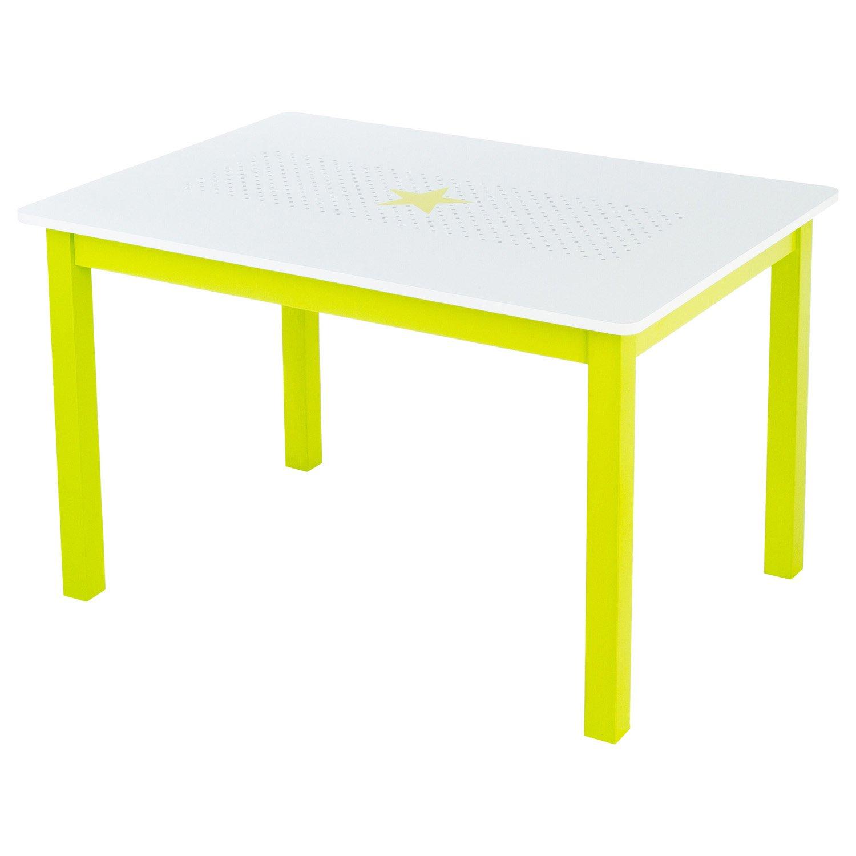 Atmosphera Wooden Children's Table Green jja