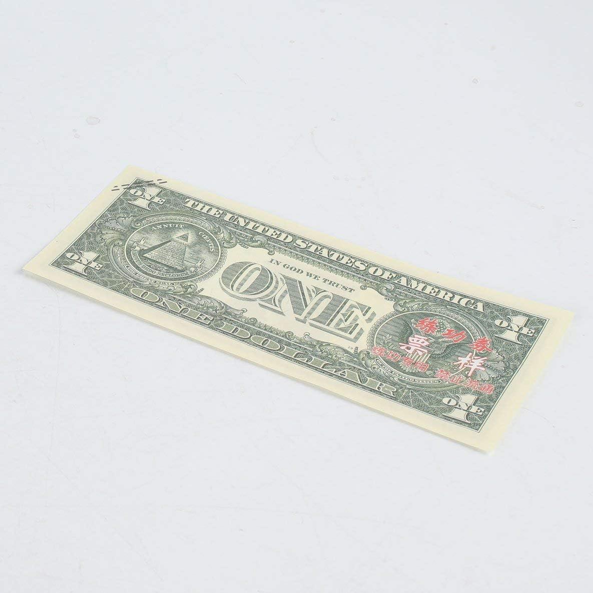 Rouku 10PCS Set Lamina doro Americano Banconota in Dollari Denaro Falso Artigianato dArte Alta Collezione Art Craft Supplies