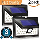 Best Wall Light With Supers - Solar Lights Outdoor, Wireless Waterproof Motion Sensor Solar Review