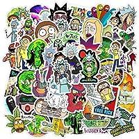 Cartoon Stickers Pack (50Pcs),Laptop Stickers,Waterproof Vinyl Stickers for Water Bottles,Laptop,Skateboard,Luggage…