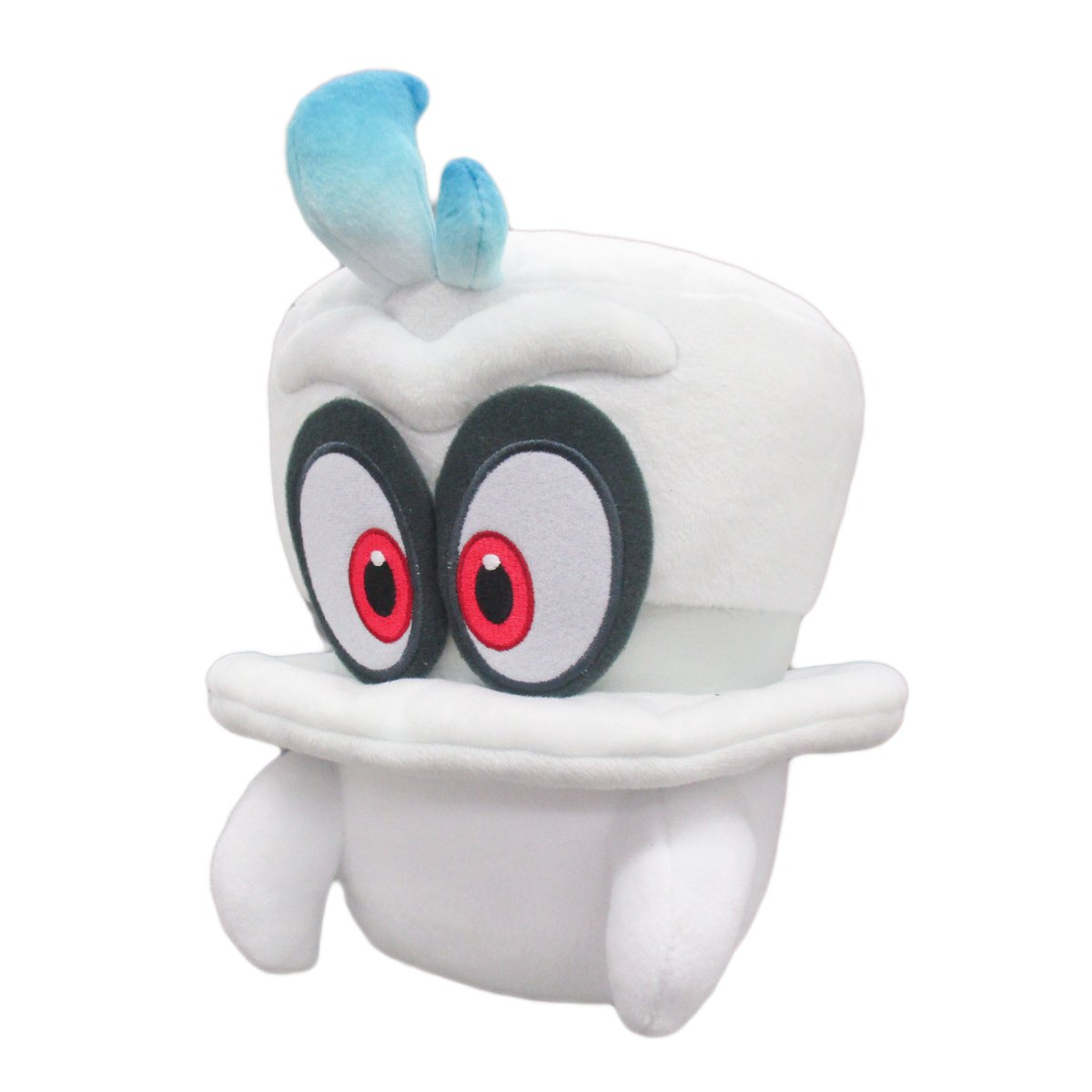 Super Mario Odysssey White Cappy (Normal Form) Plush by Sanei