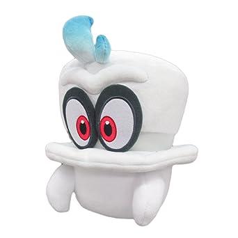 Super Mario Odyssey Cappy Sombrero Gorro Gorra De Mario Fantasma Peluche Altura 20cm Producto Oficial Con