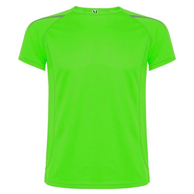 Roly Camiseta técnica de Hombre, Verde Claro, Sepang: Amazon.es: Ropa y accesorios