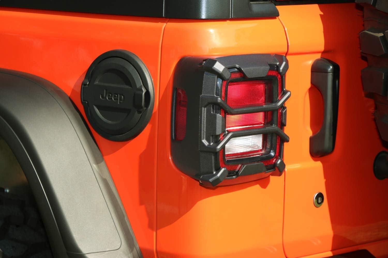Rugged Ridge 11226.13 Elite Tail Light Guard Conventional Light; 18-20 Jeep Wrangler JL//JLU
