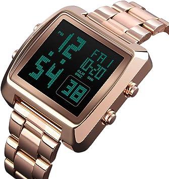 JQXB Reloj Digital para Hombre, Reloj De Pulsera Deportivo Unisex ...