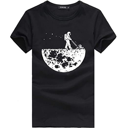 aee40161 Amazon.com: Funny Tee Shirts for Men,Pocciol Summer Simple Graphic T ...